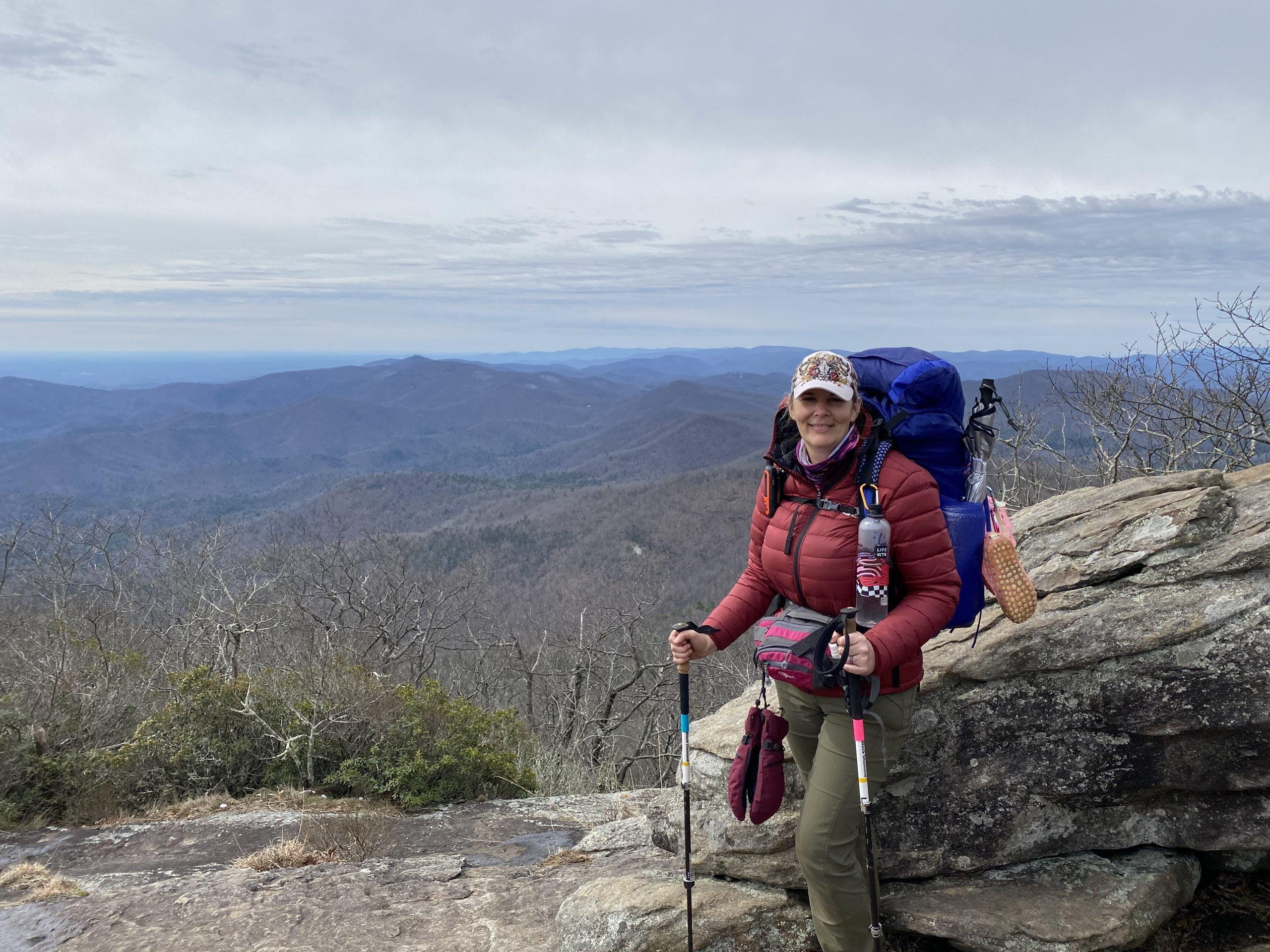 Day 5: Appalachian Trail Thru Hike   Blood Mountain