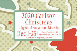 2020 Carlson Light Show to Music