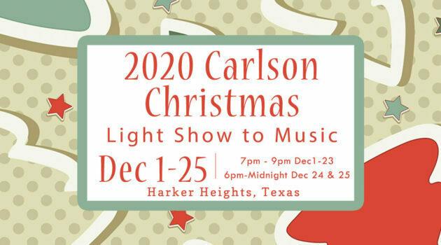 2020 Carlson Light Show to Music
