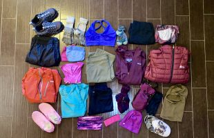 My appalachian trail clothing choices