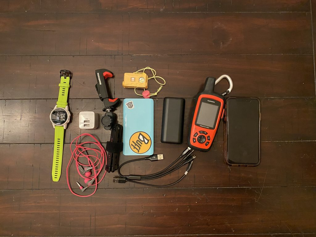 electronics for the appalachian trail