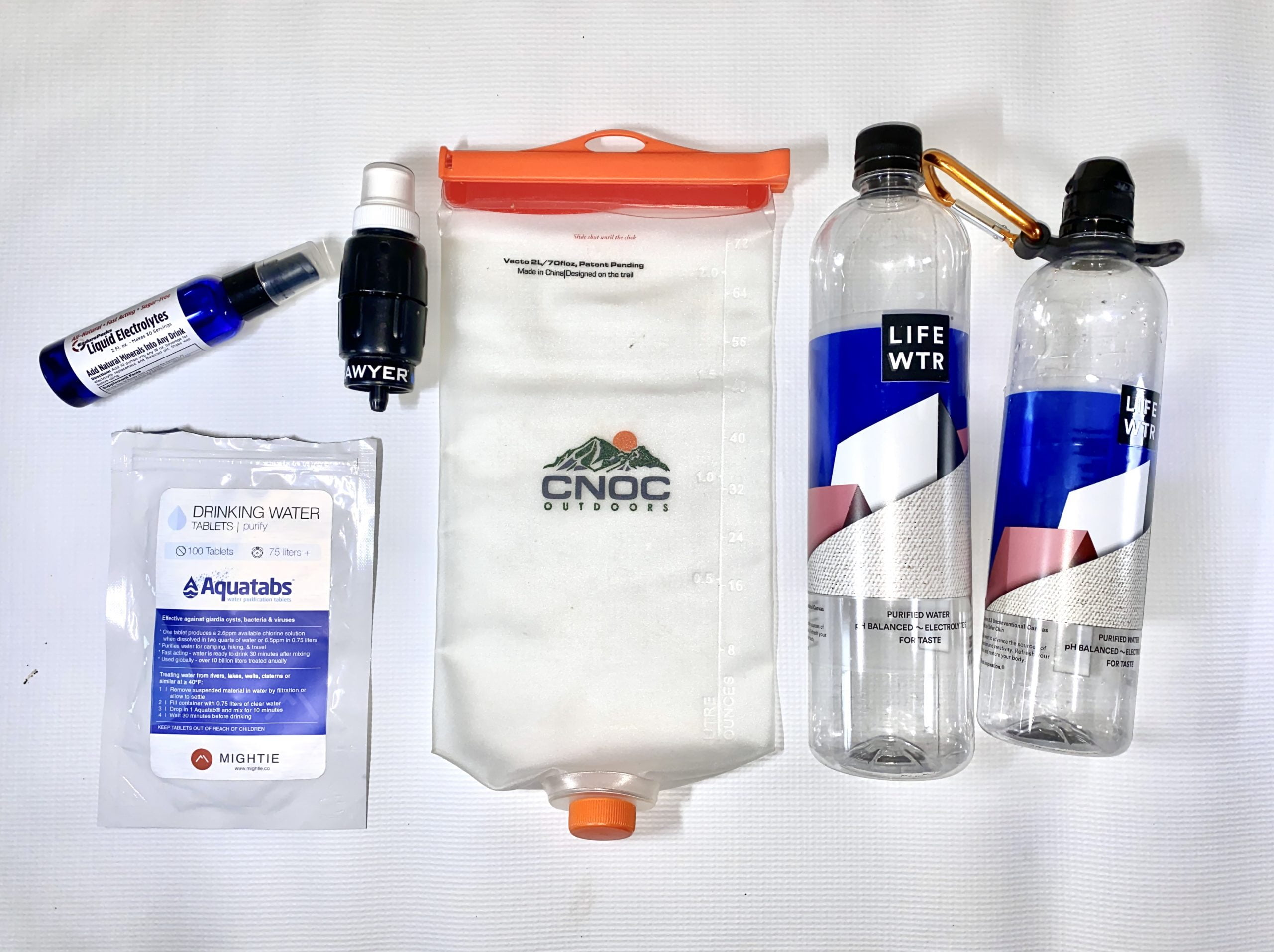water filtration system for the Appalachian trail