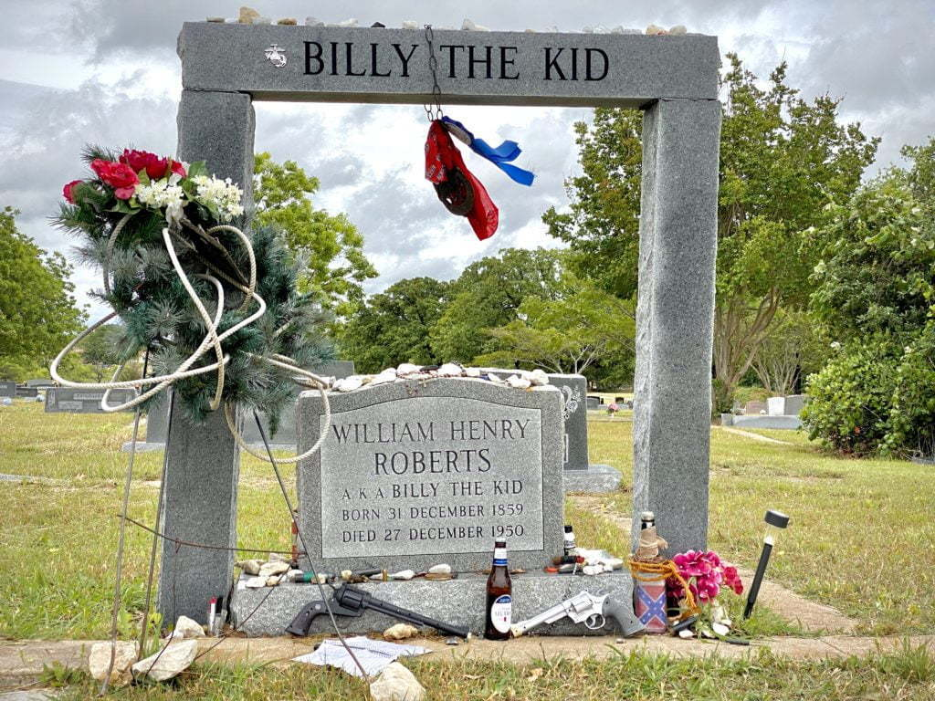 Billy the kid grave hamilton nuttyhiker