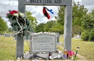 Billy the Kid's Grave in Hamilton, Texas