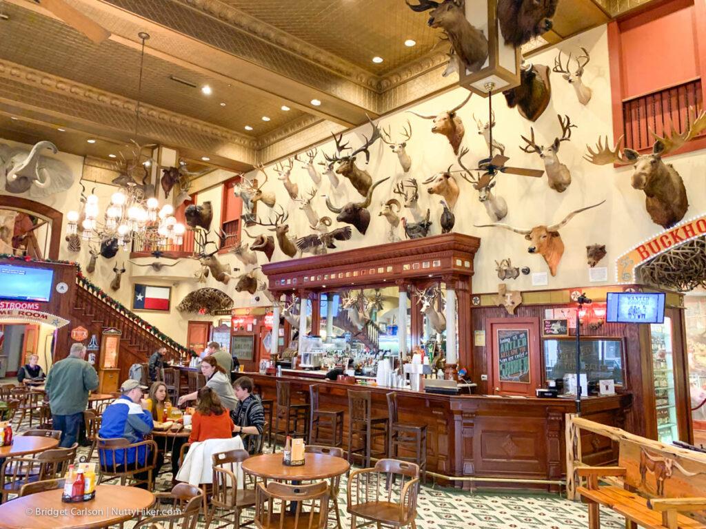 Buckhorn Saloon Bar
