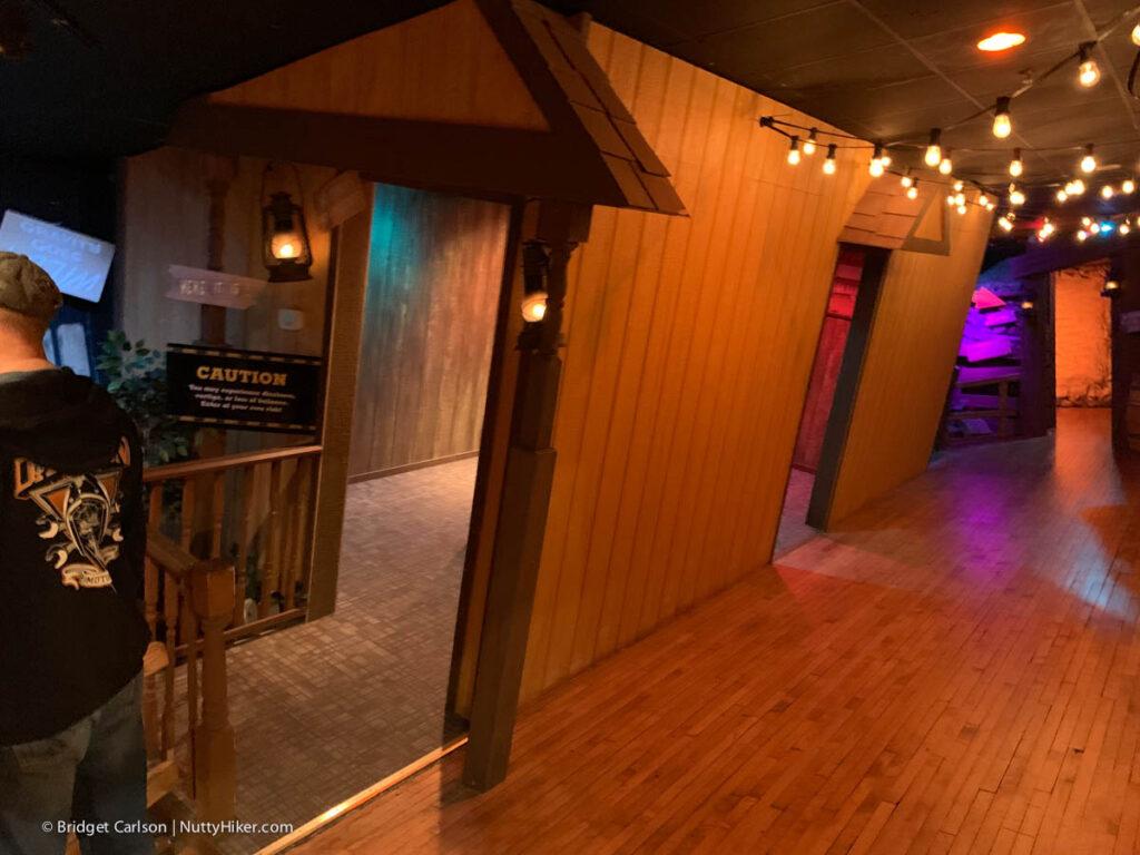 Buckhorn Saloon Optical illusion house