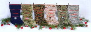 Camosock - Military Theme Christmas Stockings