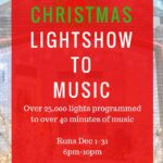 Carlson Christmas Light Show 2016 located in Harker Heights near Fort Hood