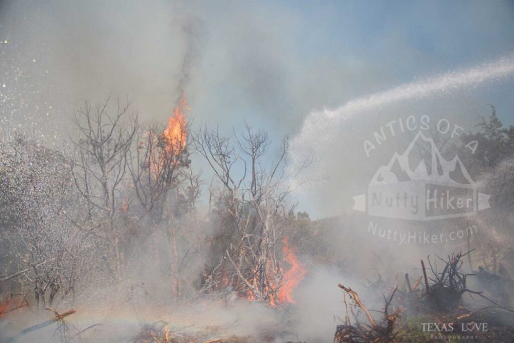 Dana Peak Park Fire of 2015