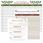 Holiday Checklist Download Kit