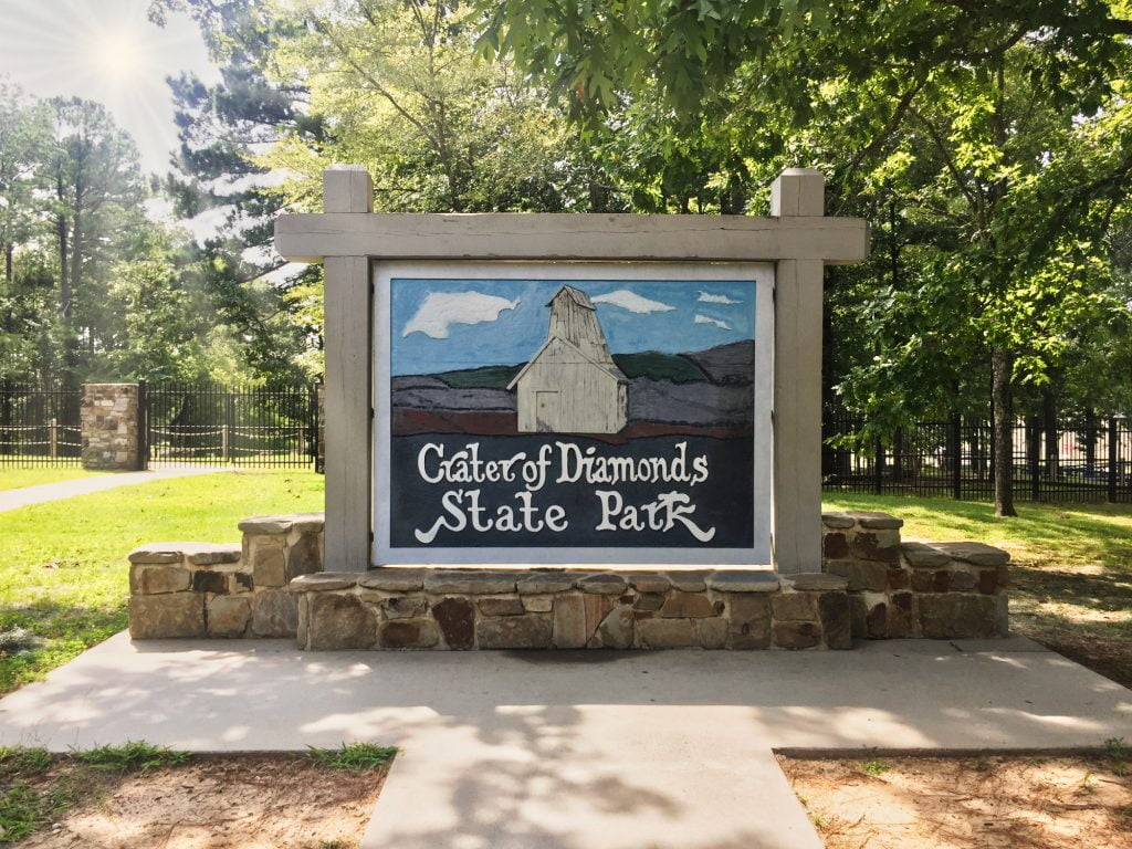 Crater of Diamonds State Park in Arkansas