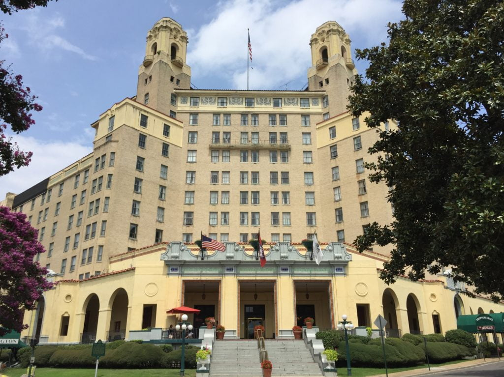 Arlington Hotel at Hot Springs Arkansas