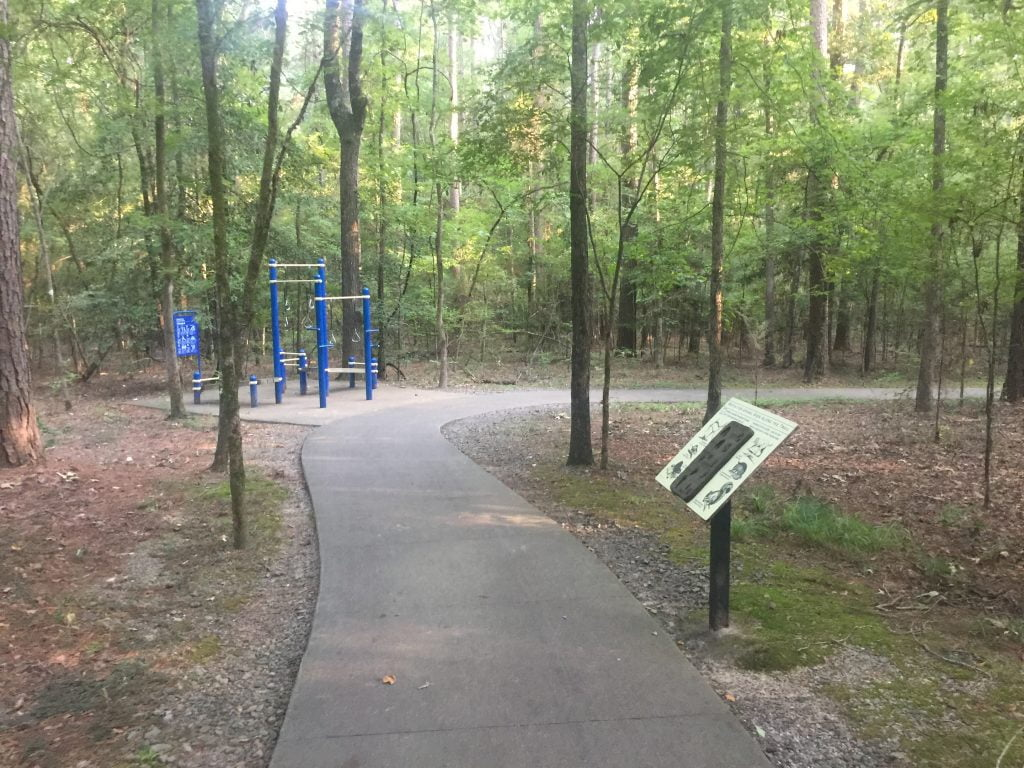 Crater of Diamonds Hiking Trail -