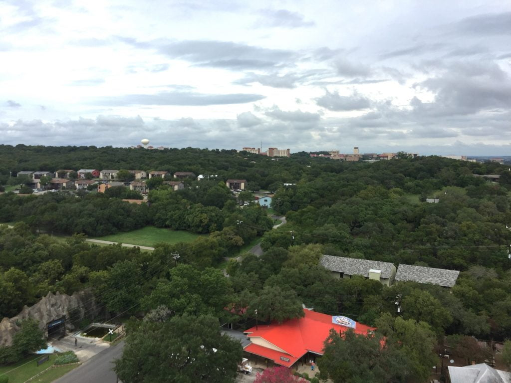 View from Tejas Observation Tower at Wonder World Park