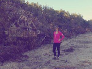 Hiking at Dana Peak Park