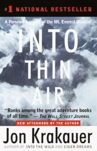 Into Thin Air Bookcover