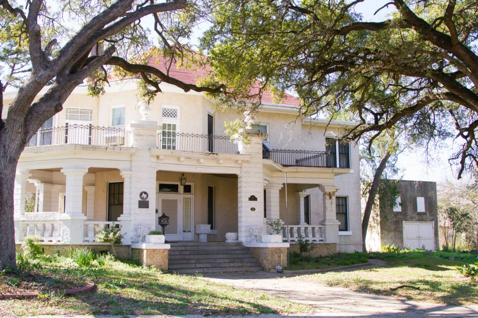 Historic McCelvey Mansion in Temple Texas