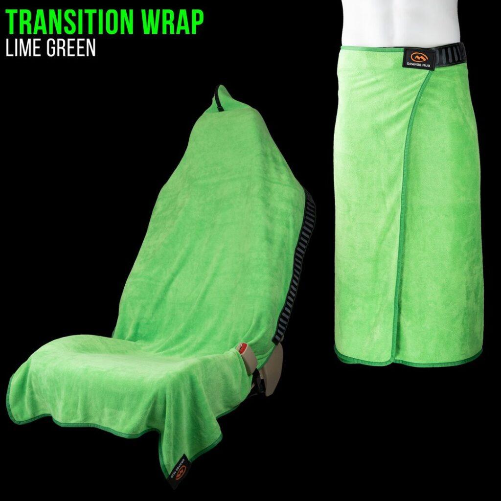 Orange Mud Wrap Lime Green