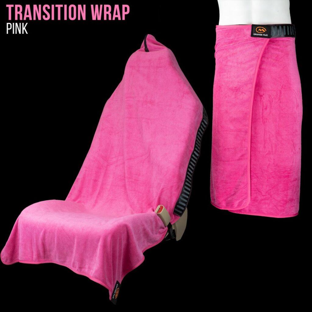 Orange Mud Wrap Pink