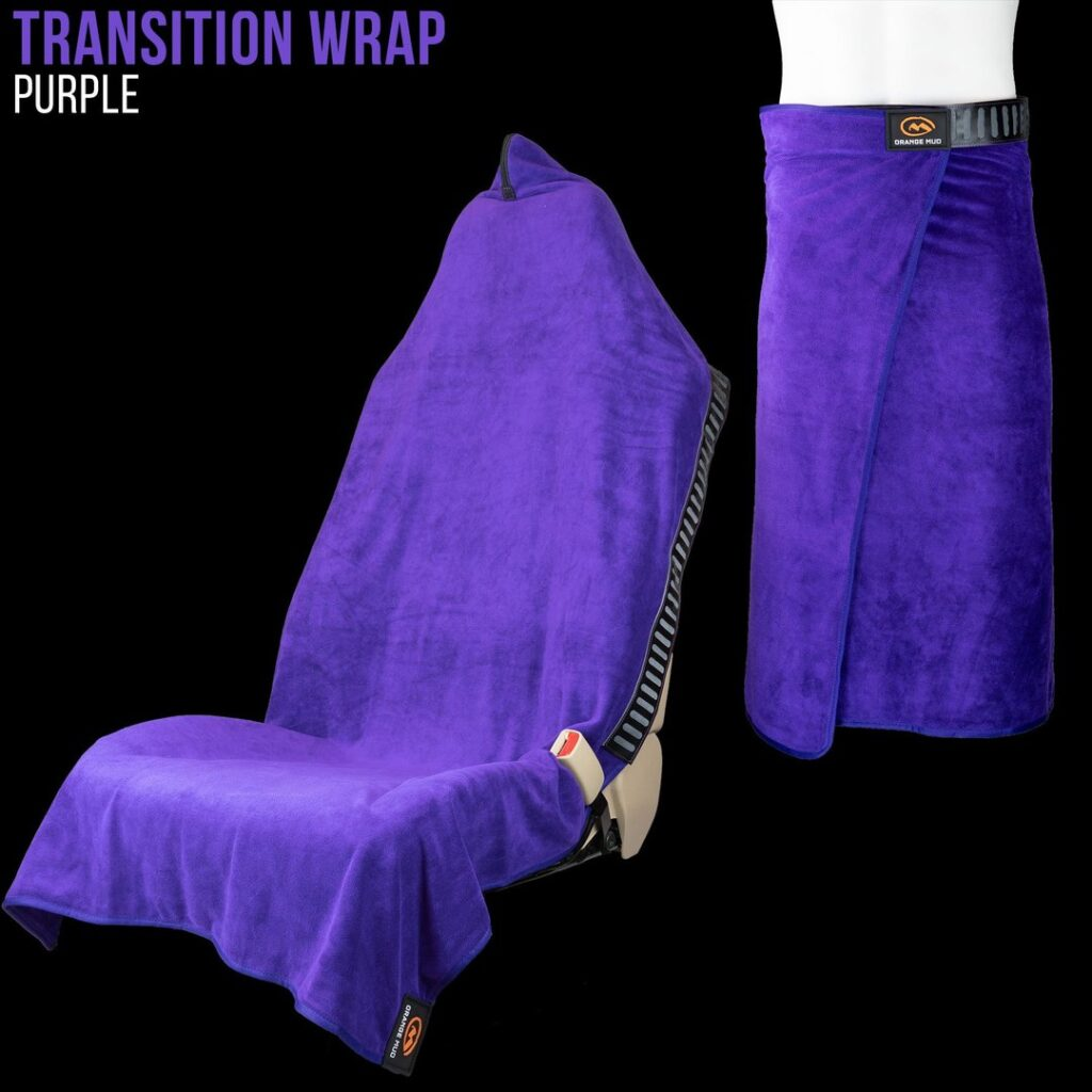 Orange Mud Wrap Purple