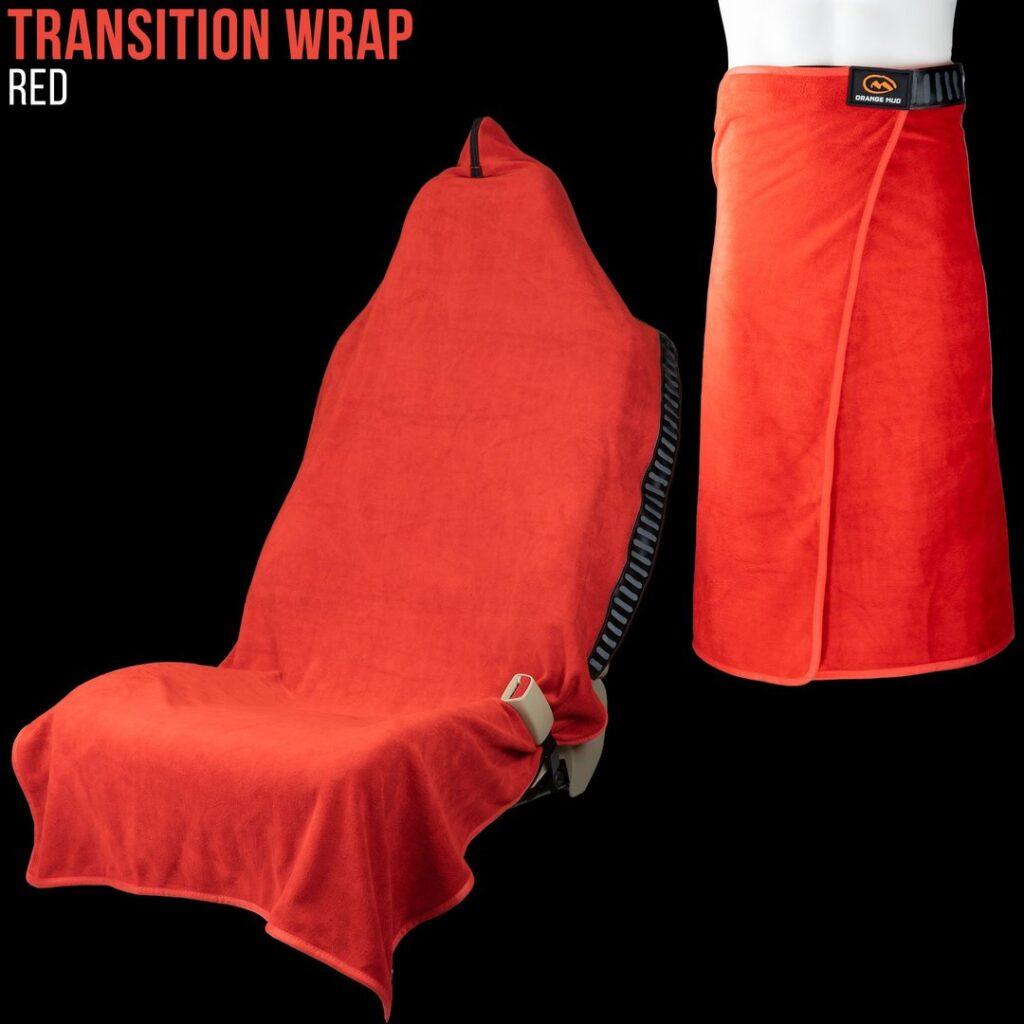 Orange Mud Wrap Red