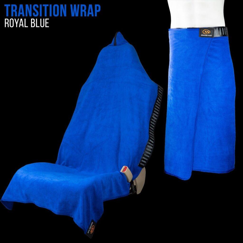 Orange Mud Wrap Royal Blue