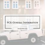 PCS: General Information