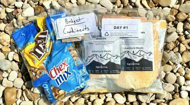 RightOnTrek Adventure Meals Review