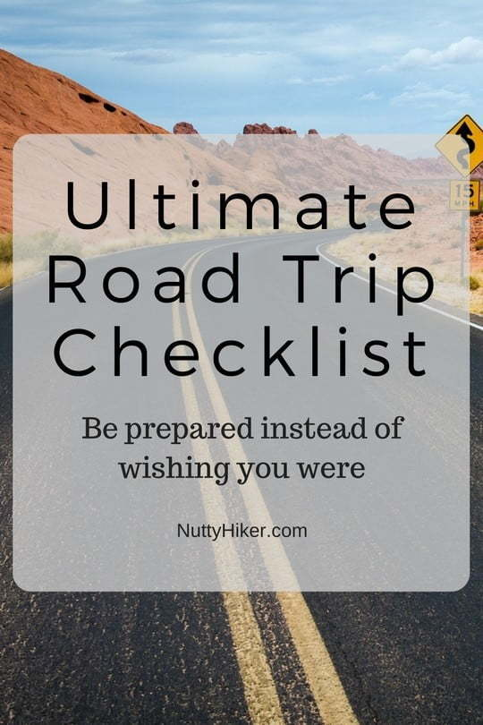 The ultimate road trip packing list!