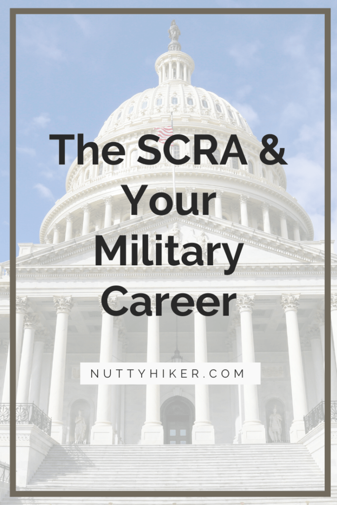 servicemembers civil relief act (SCRA) and what protections it offers for military members.