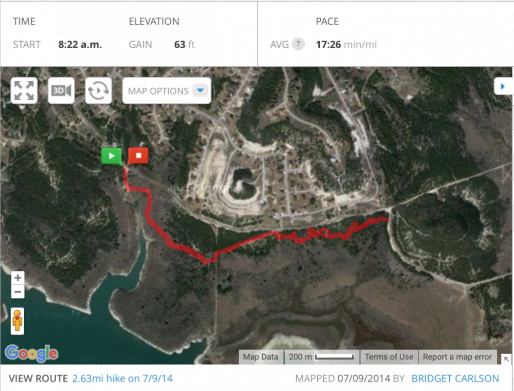 My July 10th 2014 hike at Dana Peak Park