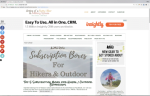 Nutty Hiker Website HTTPS Oct 2017