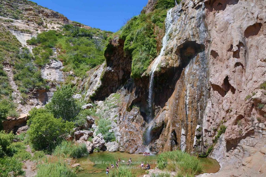 Sitting Bull Falls Oasis In The Desert New Mexico