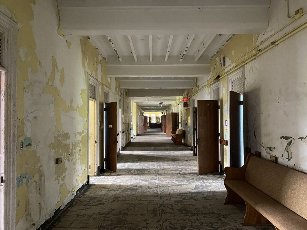 Haunted Trans-Allegheny Lunatic Asylum