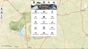 USFS Interactive Visitor Map