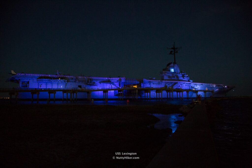 USS Lexington Corpus Christi Texas aka The Blue Ghost