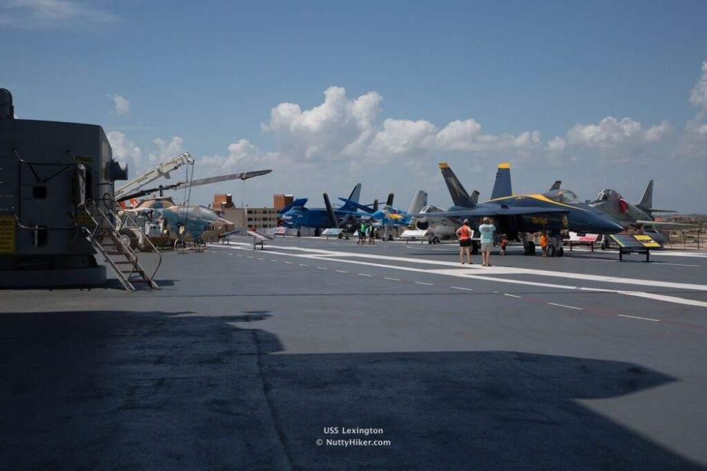 USS Lexington Corpus Christi Texas