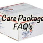 Care Package (FAQ) Frequently Asked Questions