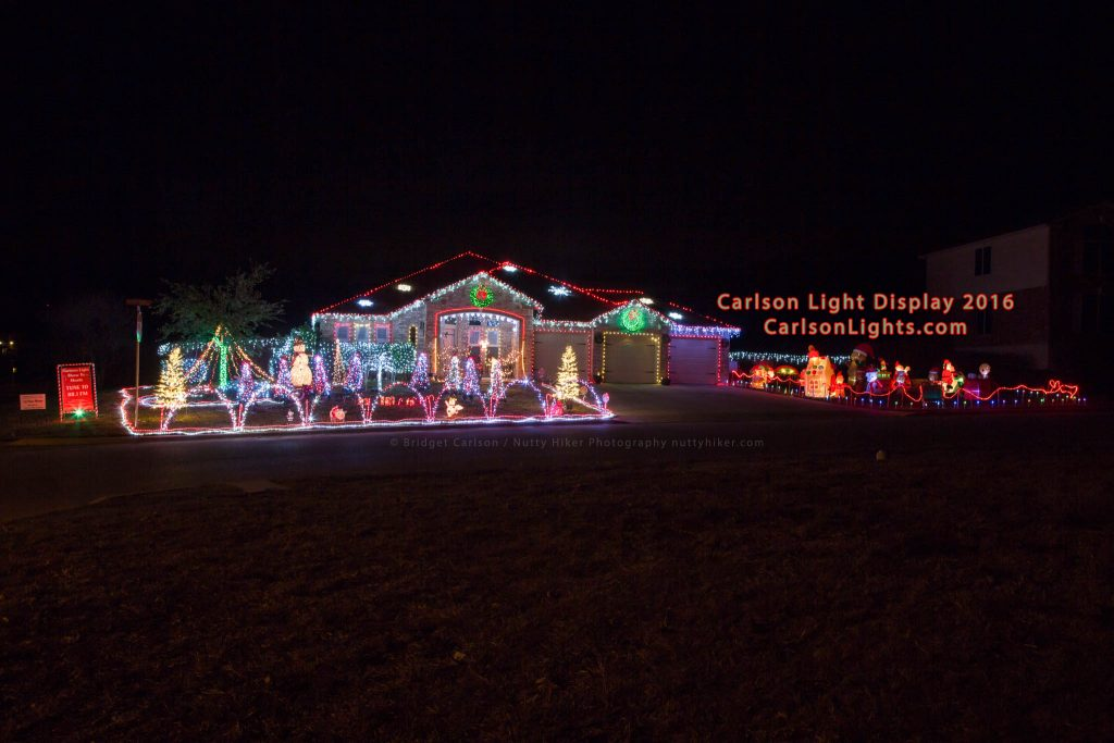 Carlson Light Display & Show, Harker Heights, Texas