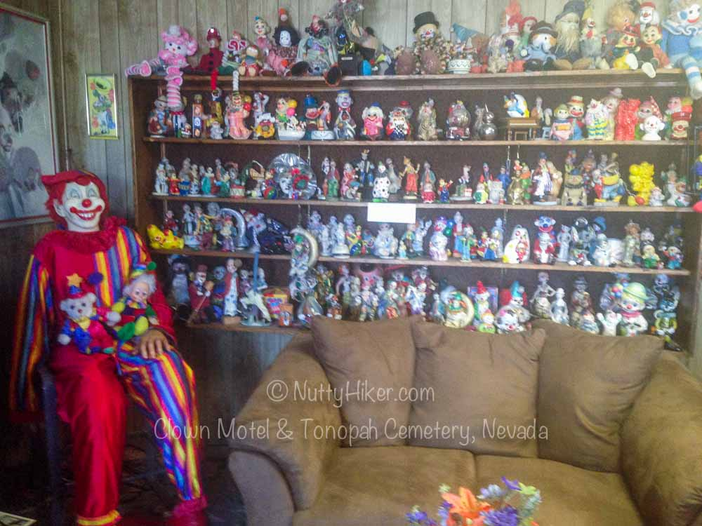 Clown Motel & Tonopah Cemetery Nevada