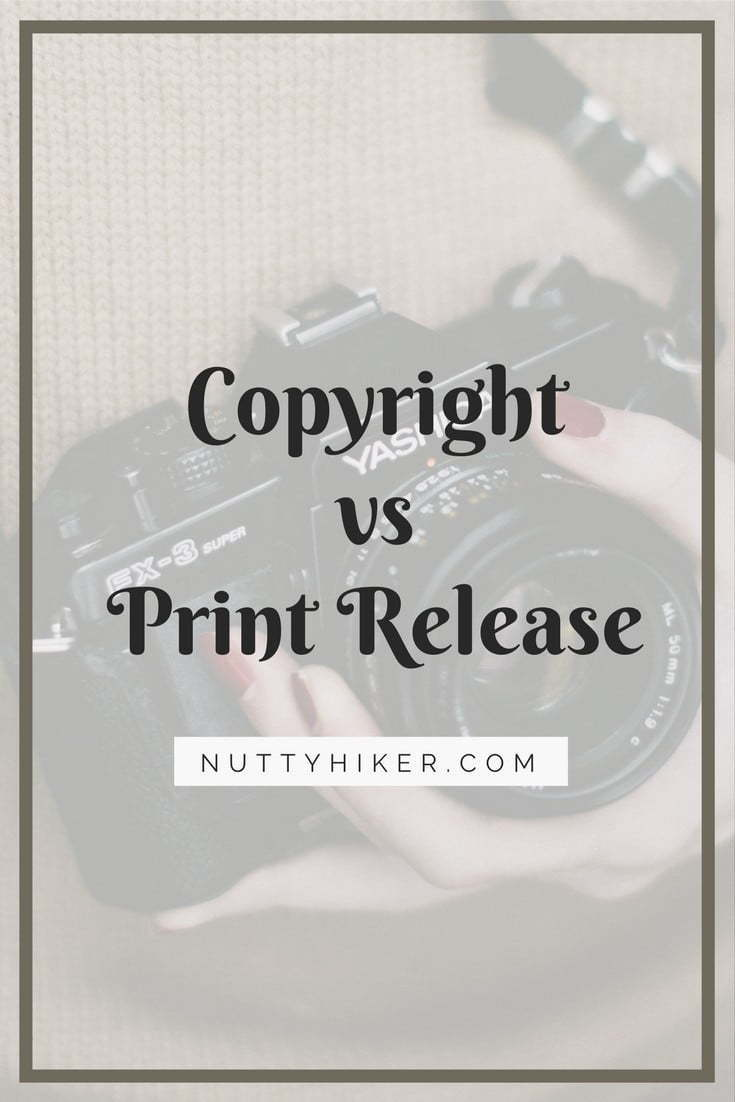 Copyright Vs Print Release Why You Don 39 T Need The Copyright