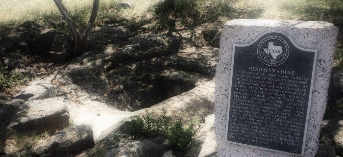 Dead Man's Hole in Marble Falls, Texas