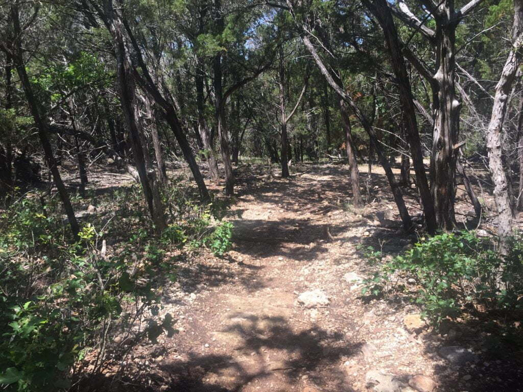 Goodwater Loop Trail In Georgetown, Texas