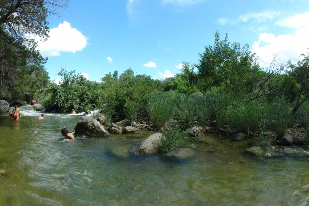 Gus Fruh Swimming Hole in Austin
