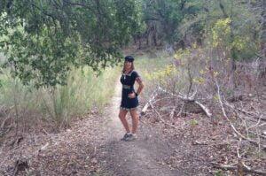 Hiking as a Sailor Sweetheart. Day 3. Dana Peak Park near Fort Hood Texas