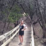 Day 4 of Halloween hike at Dana Peak Park near Fort Hood Texas dressed as a pirate.
