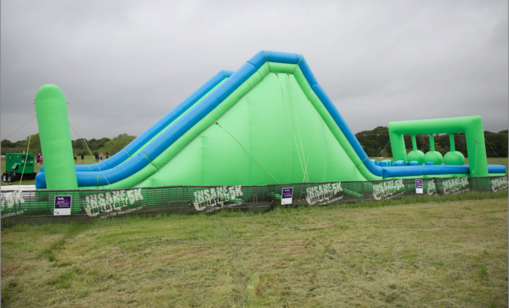 Insane Inflatable 5K 2016 in Temple Texas