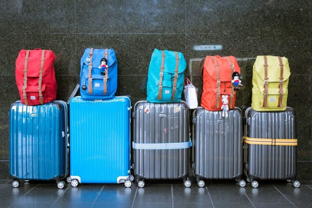 PCS Weight, Luggage, Trip, Moving image