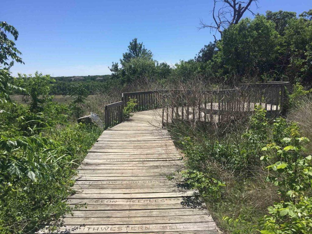 Miller Springs Nature Center in Belton, Texas
