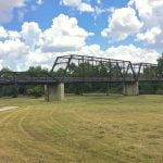 Moore's Crossing Bridge near Austin Texas